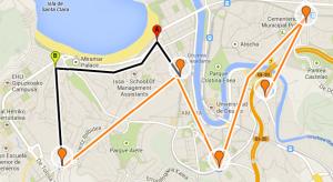 Mapa del topo metro actual y  del futuro